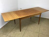 60er 70er Jahre Oak Eiche Esstisch Dining Table Danish Modern Design Denmark 60s