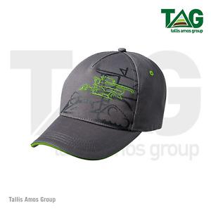 Genuine John Deere Grey Combine Cap Hat - MCJ099399103
