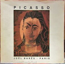 PICASSO*CATALOGUE RAISONNE DE LITHOGRAPHIE*LINOLEUM*1984*RARE*MUSEUM*COLLECTOR