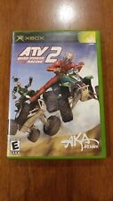 ATV: Quad Power Racing 2 (Microsoft Xbox, 2003) VERY GOOD COMPLETE!