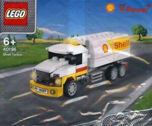 Lego V-Power Shell Tanker 40196 Polybag BNIP