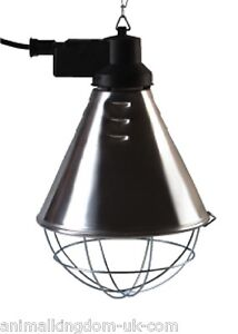Radiant Heat Lamp With High/Low Switch for Poultry/Puppies (32668uk)