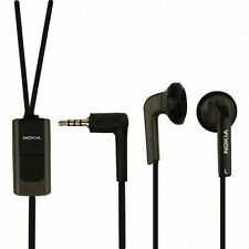 Original Stereo Headset Kopfhörer HS-47 schwarz Nokia 7310 Supernova 8600 Luna