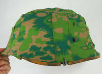 WWII GERMAN PALM TREE CAMO M35 REVERSIBLE HELMET COVER -33104