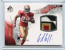 2009 SP AUTHENTIC #381 GLEN COFFEE AUTO PATCH ROOKIE RC #408/999 - S.F. 49ERS