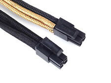 Silverstone SST-PP07-EPS8BG (1 x 8pin to EPS12V 8pin(4+4) connector, Black/Gold)