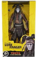 THE LONE RANGER - Tonto 1/4 Scale Action Figure (NECA) #NEW