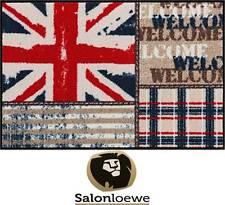 """Paillasson 50 x 75 cm Paillasson lavable Efia """" Union Jack patchwork """" NEUF"""