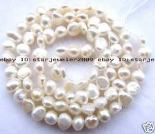 Flat Baroque 5-6mm Freshwater Pearl Loose Beads