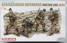 Dragon 6517 Gebirgsjager Defenders Gustav Line 1944 1/35 Series Model Kit NIB