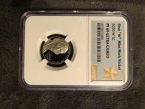 "2020 W First ""W"" Mint Mark Nickel (4772573-004)"