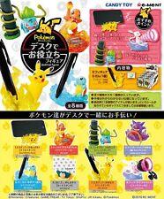 Re-Ment Miniature PokeMon Pikachu Desktop Figure Full Set of 8 pieces