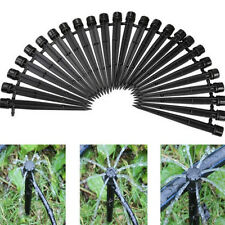 Pack of 50 Adjustable Water Flow Irrigation Drippers Stake Emitter Drip System
