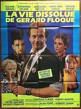 Affiche LA VIE DISSOLUE DE GERARD FLOQUE Georges Lautner GIRAUD 120x160cm *