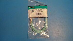 Panduit FXE10-10M5 Fiber Optic Cable Assy's LC-LC 10Gig OM3 50 m, 1.6mm Dupl, 5m