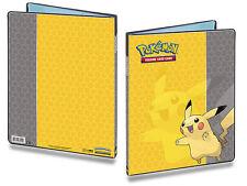 Ultra Pro Pokemon 9 Pocket Portfolio Pikachu A4 Holds up to 180 Cards