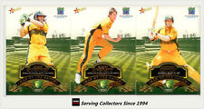 2007-08 Select Cricket Trading Card Man Of The Match Subset Full Set (16)