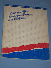 TWENTY AMERICAN ARTISTS - catalogo mostra S. Francisco 1980 (H5)