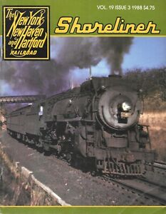 Shoreliner Magazine #3 1988 New Haven McGinnis Trains Trolley