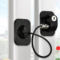 Child Baby Safety Lock Window Door Refrigerator Limit Locker Cable Super Glue