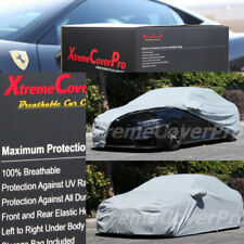 2015 BMW M4 CONVERTIBLE Breathable Car Cover w/Mirror Pockets - Gray