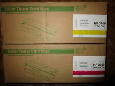 TONER Laser HP3700 Y / M Compatible HP Imprimante Cartouche encre NEUF