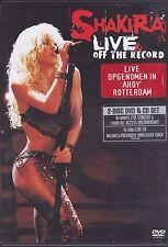 Shakira-Live&Off The Record 2 music DVD set