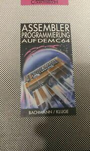 Bachmann / Kluge Assemblerprogrammierung (Westermann, 1985 Commodore 64) Buch