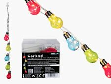 NOVELTY FUNKY LIGHT BULB SHAPED STRING LED PARTY LIGHT NIGHT NEW IN GIFT BOX