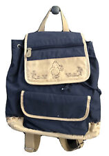 Classic Pooh Mini Diaper Bag Backpack Style w/changing pad - Excellent Condition