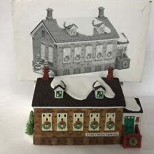 Department 56 Stoney Brook Town Hall Heritage Village Collection Porcelain 5644