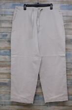 Abercrombie Fitch Men's Large Relaxed Chino Button Fly  100%  Cotton  (J-71)