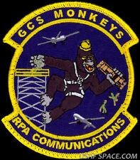 USAF 849th UAV DRONE COMMUNICATIONS SQ. MQ-1 PREDATOR MQ-9 REAPER CONTROL PATCH