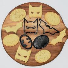 Batman/Dark Knight themed Fondant or Cookie Cutters 6 piece set Kids toys Baking