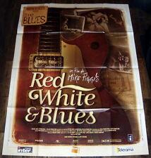 RED, WHiTE & BLUES B.B. King Eric Clapton Folk Ginger Bake LARGE French POSTER