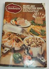 Sunbeam Recipe and Instruction Book, Cookbook, Softcover