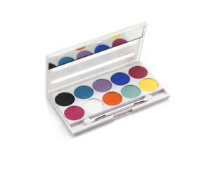 Beauty UK Cosmetics Festival Palette - Festival   Colourful Pigmented Eyeshadow
