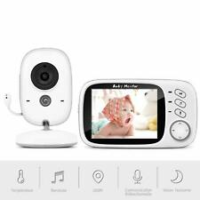 SYOSIN Bébé Moniteur Babyphone Caméra Vidéo Sans Fil Surveillance 3.2'' LCD neuf