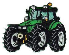 bf73 Traktor Tractor Bulldog Aufnäher Bügelbild Applikation Kinder Fahrzeug Auto