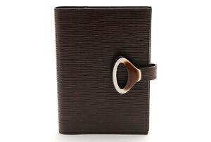 Autocollant Classement A 】 Louis Vuitton Epi Agenda Pm R2009D Jour Housse Marron