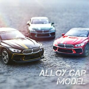 1:32 BMW M8 Alloy Car Model Diecasts & Police car Model High Simulation