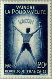 EBS France 1959 Polio Vaccination - Vaincre la poliomyélite YT 1224 MNH**