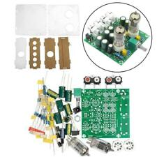 6J1 Valve Pre-amp Tube Board Headphone Amplifier+Acrylic Case Kits Component DIY