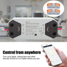ABS WiFi Smart Light Switch Breaker Remote Control Works With Alexa Google Home