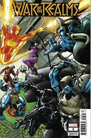 War Of The Realms Comic 3 Cover D Variant Sean Izaakse First Print 2019 Marvel