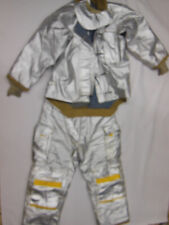 SILVER ALUMINATED Rip Stop Nomex FIRE FIGHTING JACKET & PANTS by Morning Pride