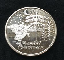 Merry Christmas For Someone Special 1 Troy Oz. 999 Fine Silver Round