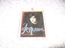 Twilight New Moon Authentic Autograph Ashley Greene Trading Card Alice Cullen