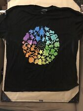 POKEMON GO FEST CHICAGO 2019 EXCLUSIVE PRIZE Black T-SHIRT SIZE 3XL