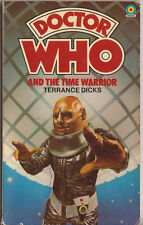 Doctor Who and the Time Warrior. 1st edn Target Books. Part sale for charity do.